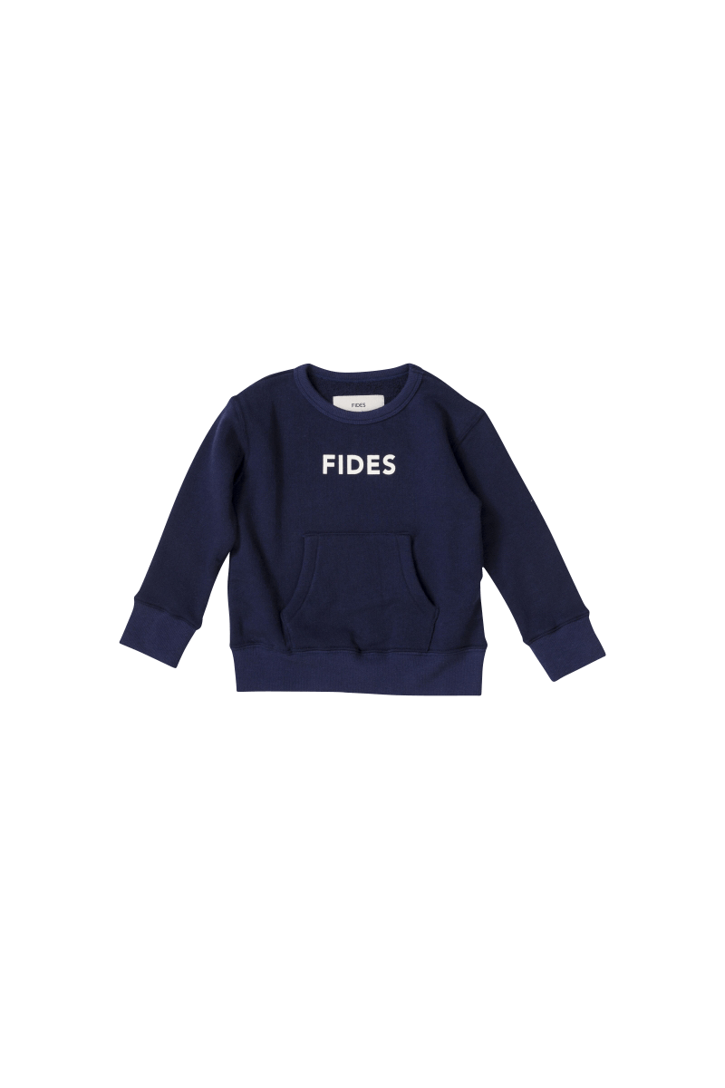 FIDES × 6°vocaLe  LOGO PULL OVER SWEAT