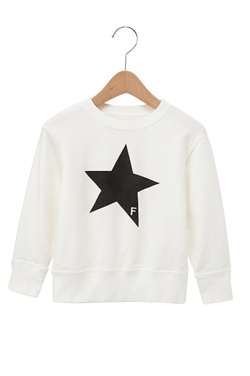 STAR CREWNECK SWEAT KIDS