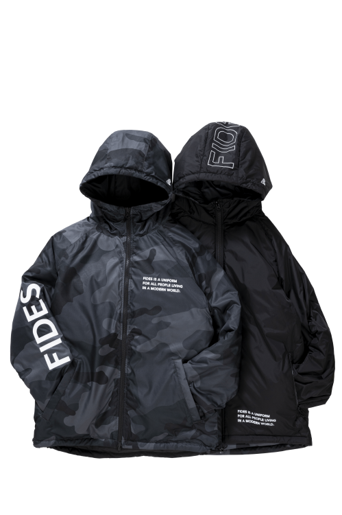 <img class='new_mark_img1' src='https://img.shop-pro.jp/img/new/icons56.gif' style='border:none;display:inline;margin:0px;padding:0px;width:auto;' />FIDES × NEW ERA REVERSIBLE  PUFF JACKET