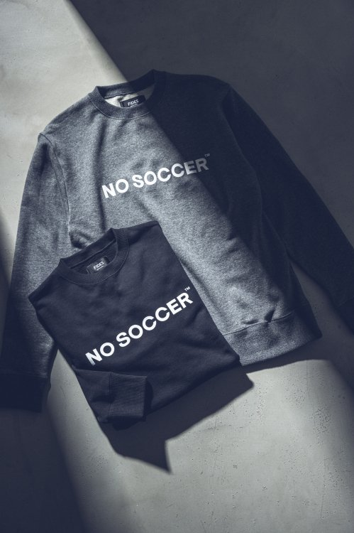 <img class='new_mark_img1' src='https://img.shop-pro.jp/img/new/icons56.gif' style='border:none;display:inline;margin:0px;padding:0px;width:auto;' />NO SOCCER CREW NECK SWEAT