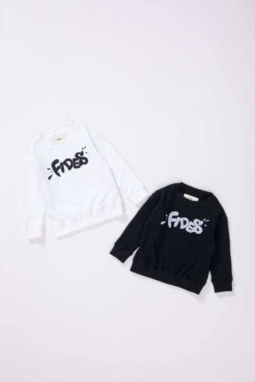 <img class='new_mark_img1' src='https://img.shop-pro.jp/img/new/icons5.gif' style='border:none;display:inline;margin:0px;padding:0px;width:auto;' />GRAFFITI LOGO CREW NECK SWEAT KIDS