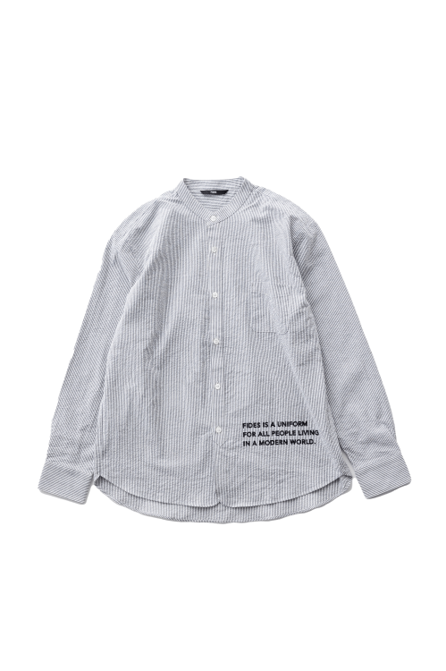 <img class='new_mark_img1' src='https://img.shop-pro.jp/img/new/icons56.gif' style='border:none;display:inline;margin:0px;padding:0px;width:auto;' />SEERSUCKER BAND COLLAR SHIRT