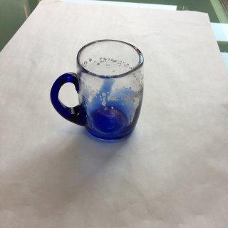 工芸ガラス マグカップ