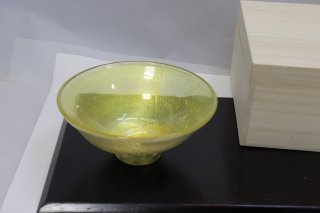 茶道具 <span>( 硬質硝子 )</span> 硬質耐熱  ( ガラス茶碗  )