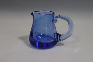 工芸ガラス ミルクピッチャー