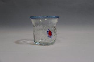 工芸ガラス ワンポイントグラスM