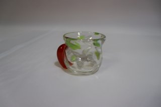 工芸ガラス <span>( Craft Glass )</span> 萌玉砕酒グラス