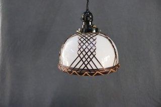 レトロ照明器具 昭和レトロ古民家風 鉢型 ペンダント    (8インチ)