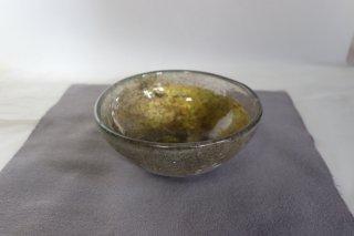 茶道具 <span>( 硬質硝子 )</span> 耐熱吹きガラス 抹茶碗 「透き彩」