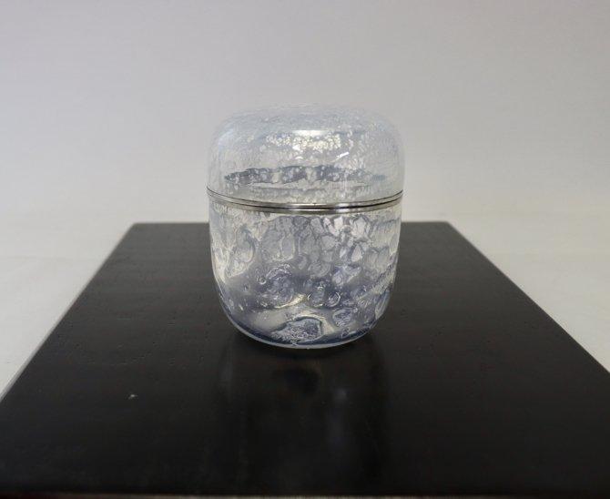 ガラス棗(オパール銀彩ガラス)【画像3】