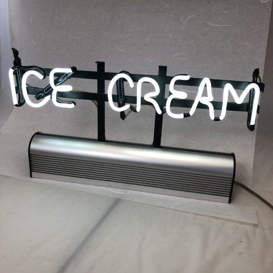 アイスクリーム低圧ネオンランプサイン【画像3】