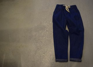 GO HEMP HARVESTER PANTS/SLUB NEP 11oz DENIM
