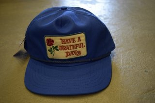 GO WEST U.S.A LOCALS CAP/HAVE A GRATEFUL DAY(BLUE)