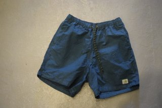 GO HEMP / HEMP JAM SHORTS / H/C WEATHER(ATLANTIC BLUE)