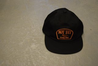 standard california / SD Not Yet Fishing Club Twill Cap(BLACK)