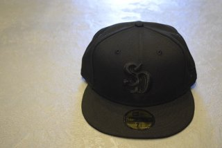 standard california / NEW ERA × SD 59Fifty Logo Cap Type 8(black)