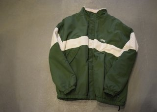 MAGIC NUMBER / COLLEGE REVERSIBLE JACKET(GREEN)
