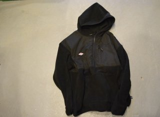 MAGIC NUMBER / FLEECE H/Z HOODIE(BLACK)