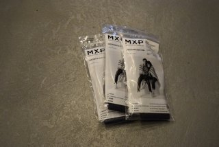 MXP / WARM REGULAR RIB SOCKS(black)