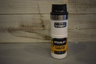 STANLEY / クラシック真空ワンハンドマグ 0.47L(WHITE)
