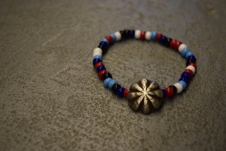 BUTTON WORKS / Beads Bracelet Concho