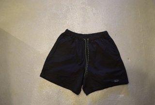 GO HEMP / HEMP JAM SHORTS / H/C WEATHER(BLACK)