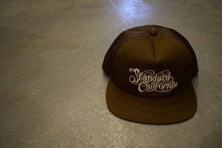 standard california / SD Harvest Moon Twill Mesh Cap(BROWN)