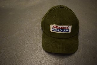 standard california / SD Logo Patch Corduroy Cap(olive)