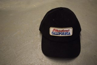 standard california / SD Logo Patch Corduroy Cap(charcoal)