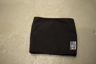 standard california / SD Fleestretch Reversible Neck Warmer(black/beige)