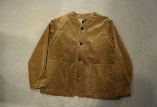 DELICIOUS / Corduroy Collarless Blouson