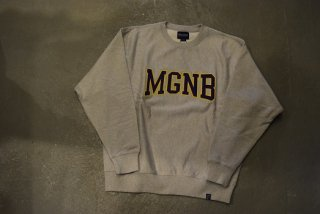 MAGIC NUMBER /  MGNB CREW SWEAT(HGRAY×PURPLE)