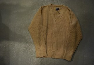 MAGIC NUMBER /  SHAGGY YARN CARDIGAN KNIT(BEIGE)