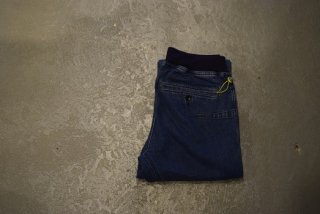 GO HEMP / SLIM RIB PANTS(USED WASH)