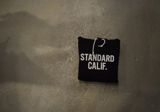 standard california / SD Logo Hood Sweat(BLACK)