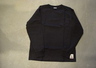 standard california / SD Heavyweight Pocket Long Sleeve T(BLACK)
