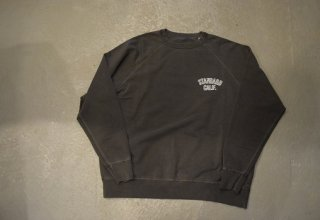 standard california / SD Pima Cotton Logo Sweat Shirt(BLACK)