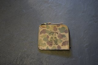 BUTTON WORKS / Camouflage Wallet-Mitchell(#2)