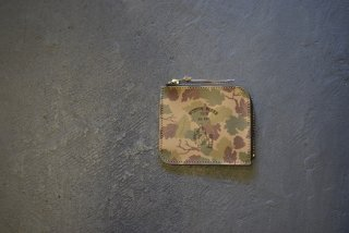 BUTTON WORKS / Camouflage Wallet-Mitchell(#3)