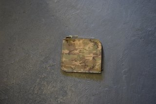 BUTTON WORKS / Camouflage Wallet-Woodland(#2)
