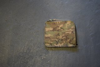 BUTTON WORKS / Camouflage Wallet-Woodland(#3)