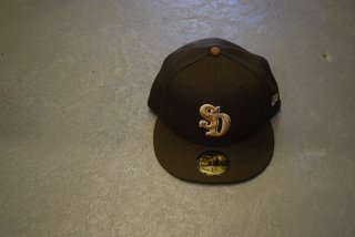 standard california / NEW ERA × SD 59 FIFTY Logo  Cap(BROWN)