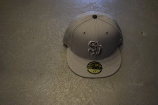 standard california / NEW ERA × SD 59 FIFTY Logo  Cap(GRAY)