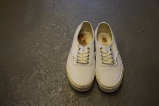 VANS / Authentic(ECO THEORY)white/natural