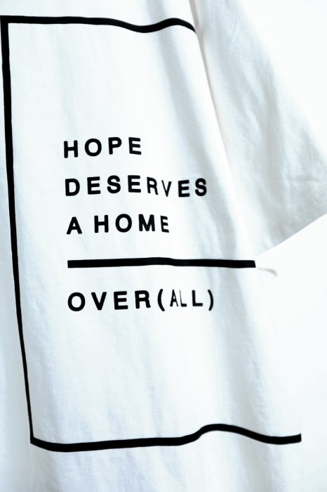 "【 70%OFF 】""HOPE"" T-shirt WHITE"