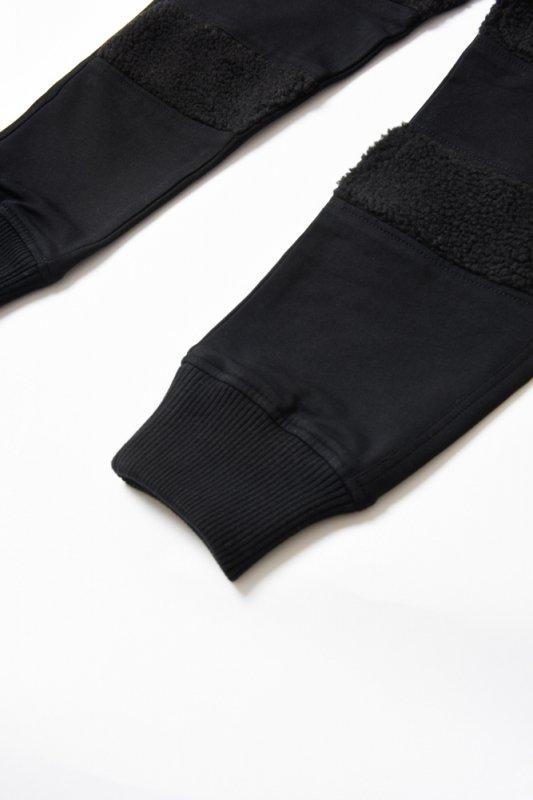 "【 50%OFF 】""THE BLACK SHEEP"" Track Pants Black x Black"