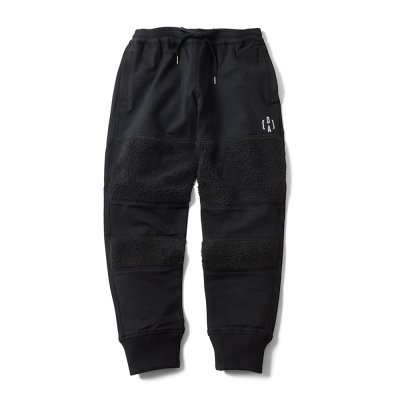 "【 50%OFF 】""THE BLACK SHEEP"" Track Pants Black x Black"