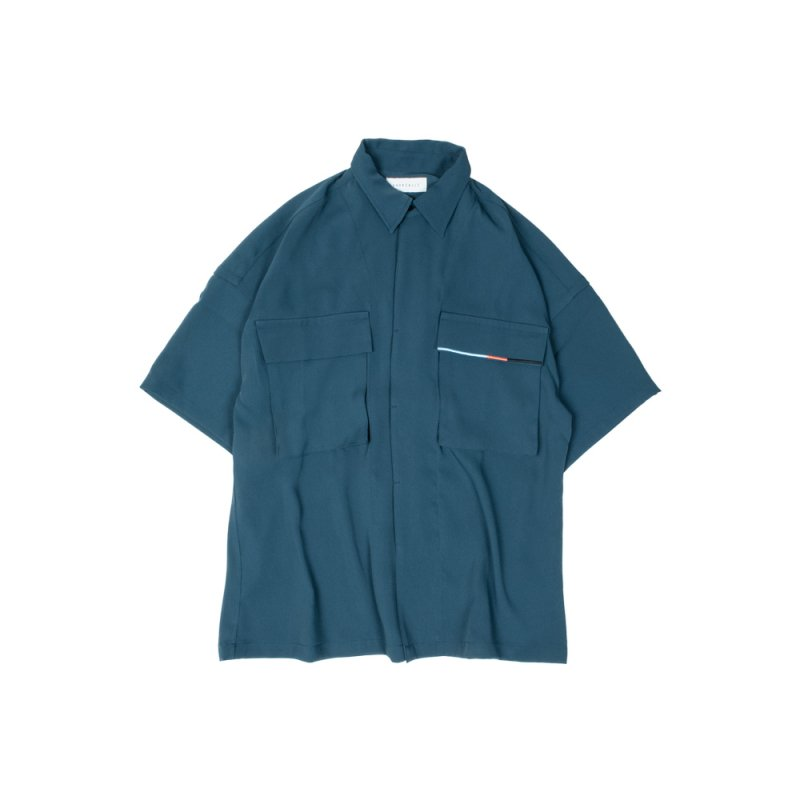 "【 40%OFF 】""WEIGHTLESS"" S/S SHIRT BLUE"