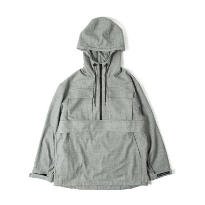 【 60%OFF 】TTCL WOOL ANORAK GRAY