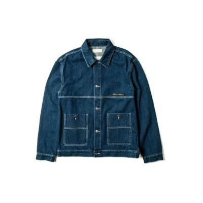 """FREE WILL"" denim Jacket INDIGO"